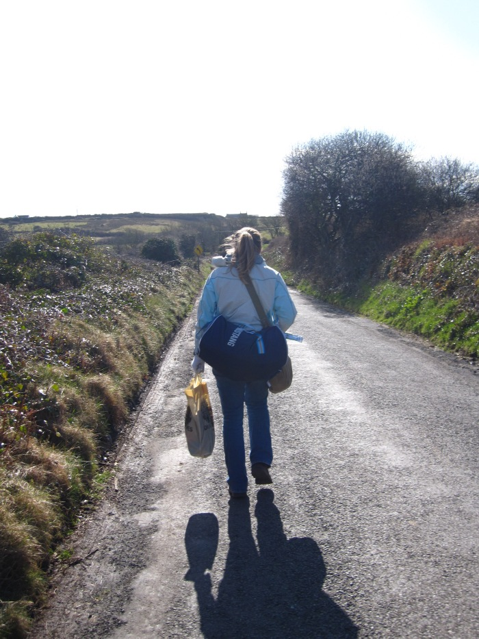Duffel-bagging through rural Ireland :)